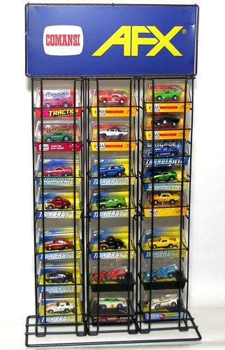 Autoworld, JL & AFX Slot Car Store Display Holds 24-27 Boxes! Unused