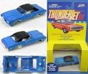 1999 JL T-Jet Slot Car Clone Body 1967 Mustang HT olive