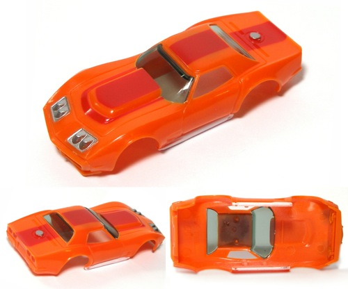 2010 xtras Aurora HO A//P A Production Chevy Corvette BODY Fits AFX TOMY AW 1927